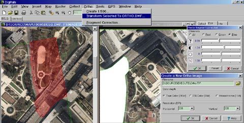Orthophoto software